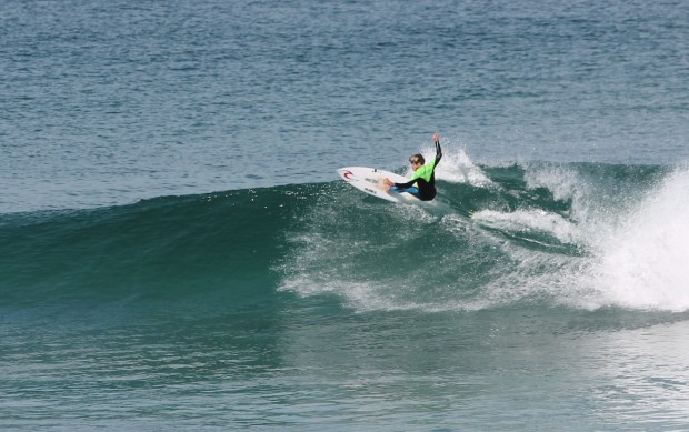 The Grom Ripping at Merwether Beach