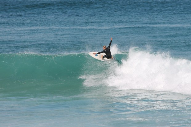 Hands in the Air at Merewether Beach