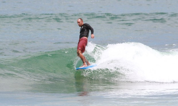 Cruising at Merewether Beach 6th Dec